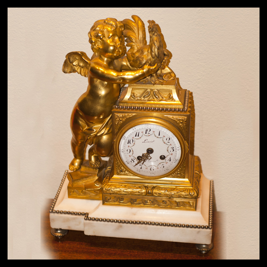 Lenoir mantle clock